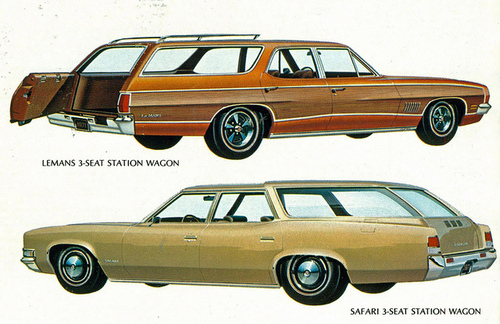 1971 Pontiac Lemans and Safari Station Wagons