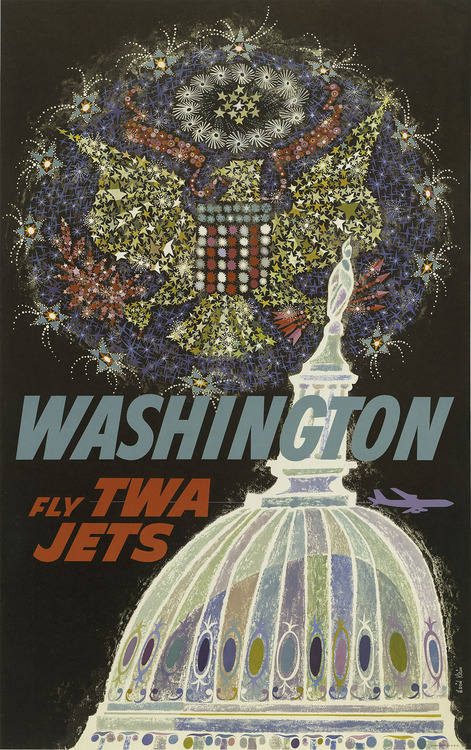 Washington, 1960s travel poster