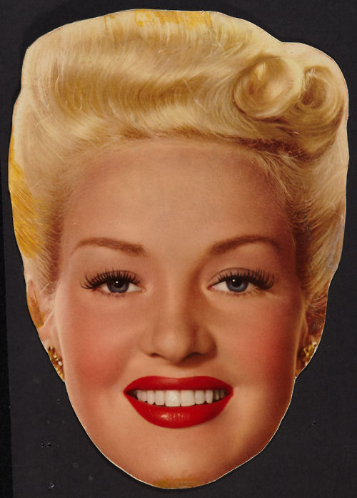 Betty Grable's head