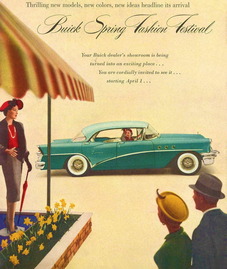 1955 Buick Spring Fashion Festival