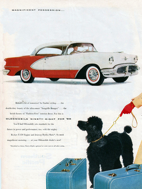 "1956 Oldsmobile… A ""Magnificent Possession"""