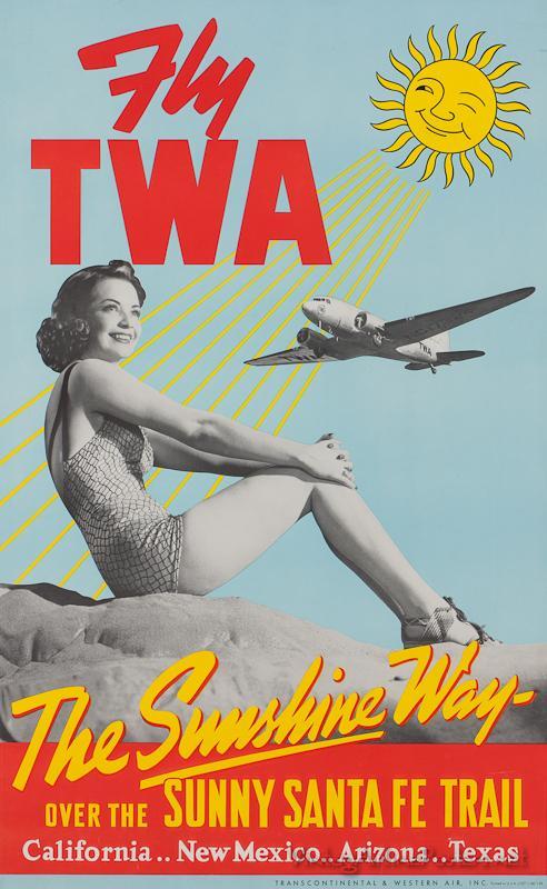 Old TWA ad