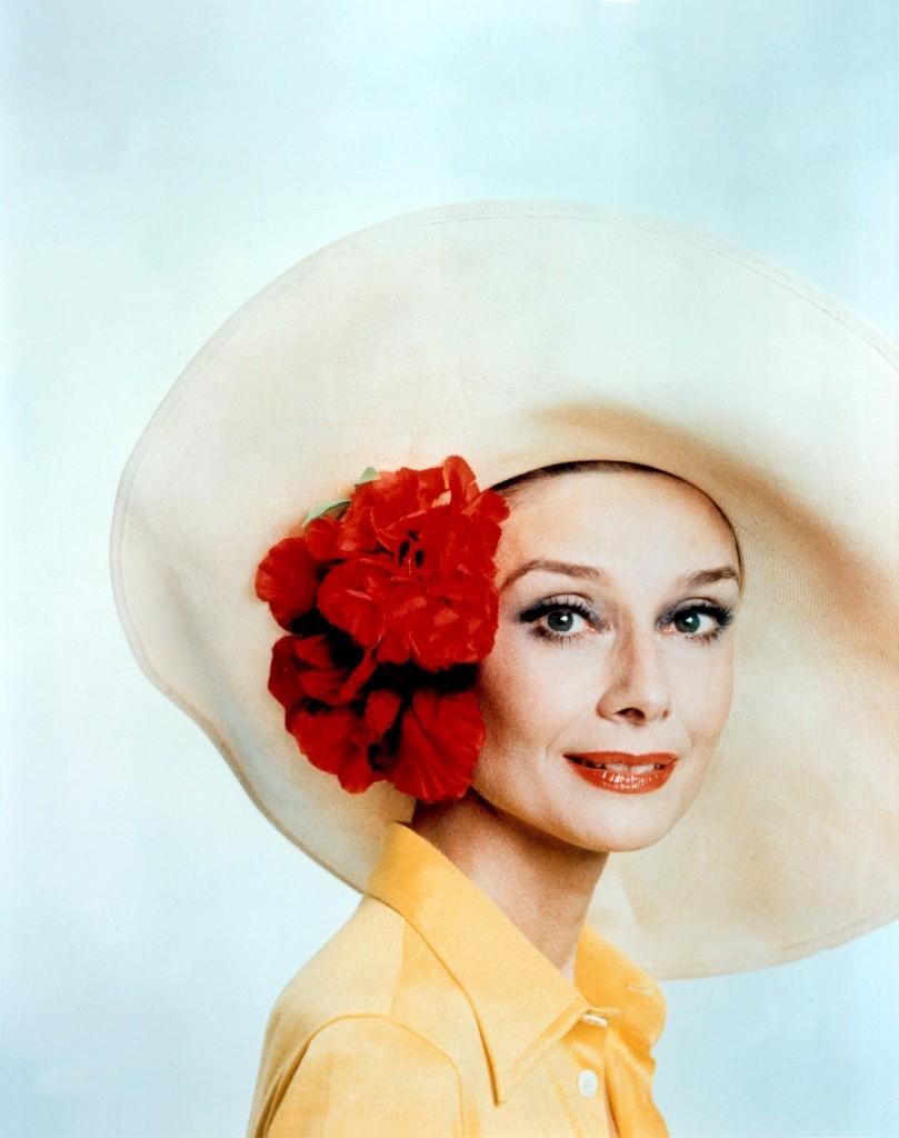 Audrey Hepburn as an olderwoman