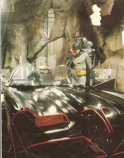 Batman and the Batmobile