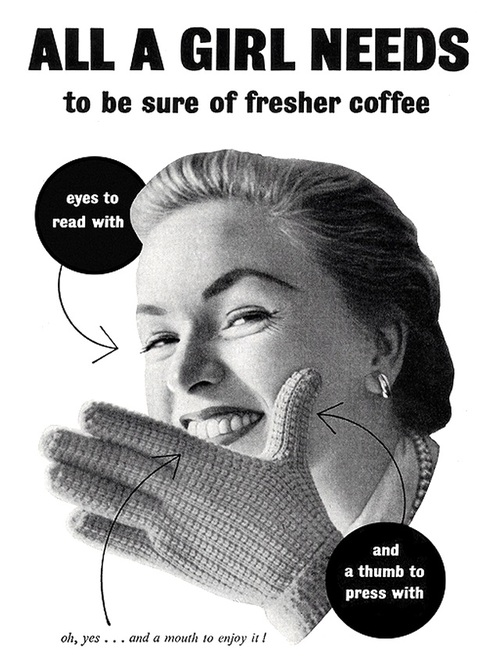 All a girl needs to be sure of freshercoffee