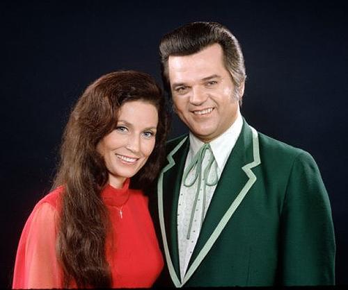 Loretta Lynn and Conway Twitty, circa1970