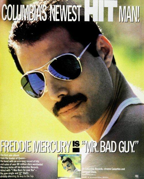 """Freddie Mercury IS """"Mr. BadGuy"""""""
