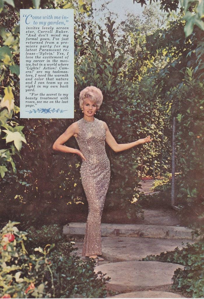 Carroll Baker invites you into her garden