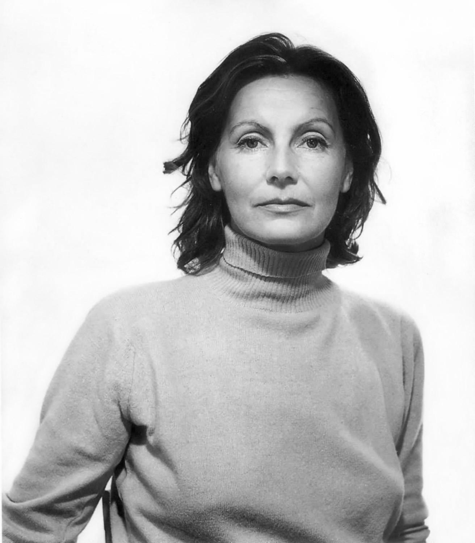 Greta Garbo as an olderwoman