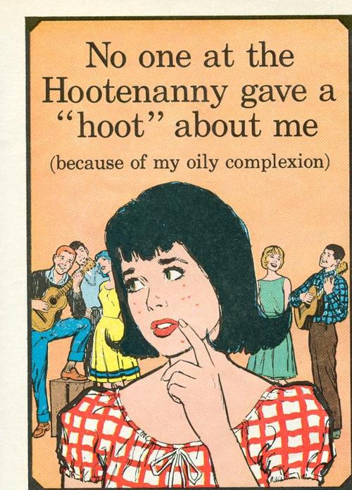 No one at the Hootenanny gave a hoot about me