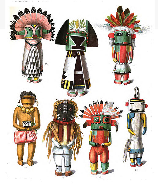 Representations of Hopi Gods