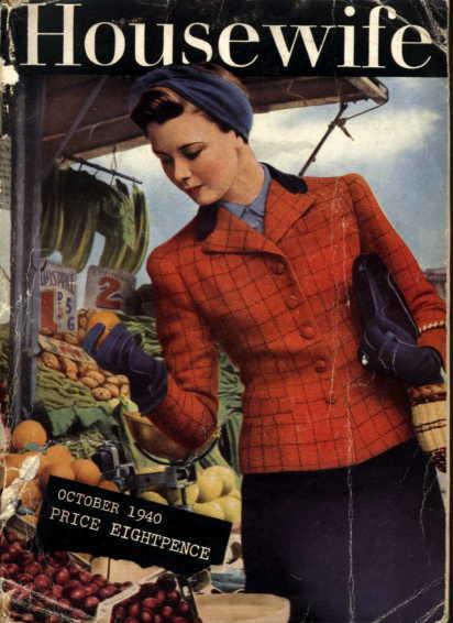 Housewife, UK magazine,1940
