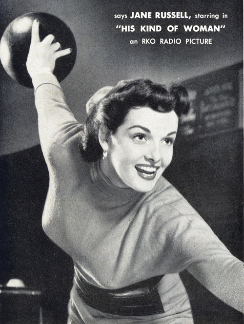 "Jane Russell in ""His Kind of Woman"""