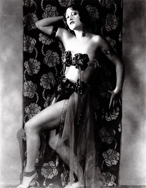 Joan Crawford, 1920s, in a risque pose