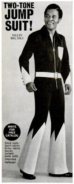 Two-tone jump suit!