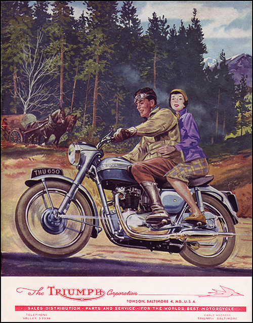 motorcycle 1955