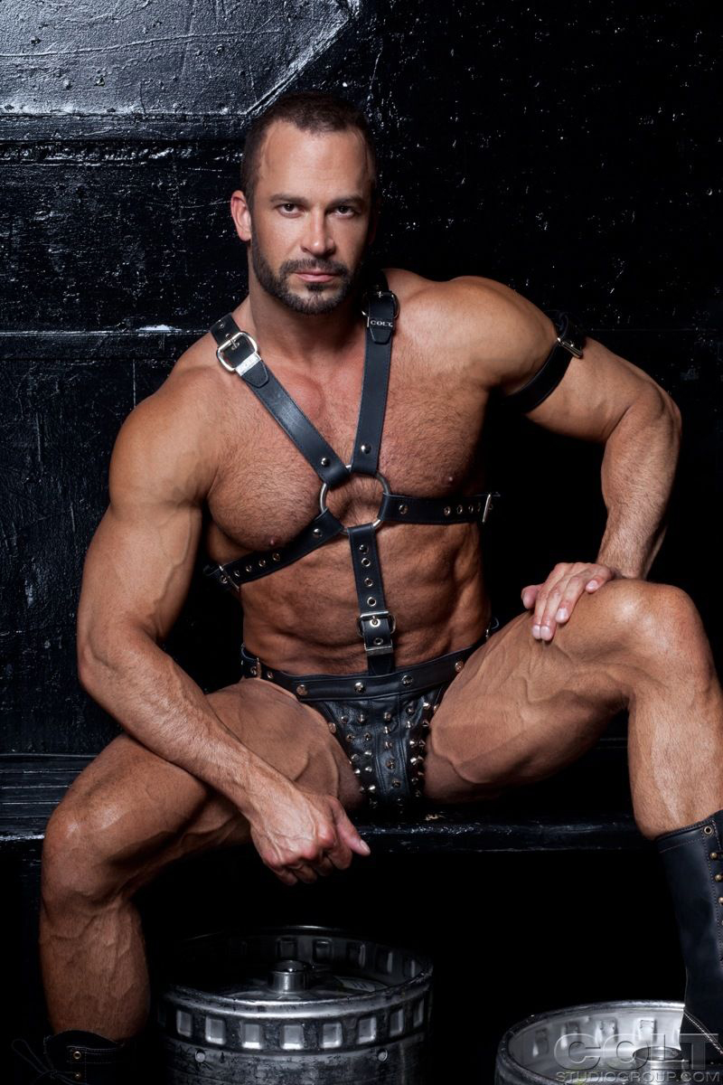 from Lyric leather harness gay man