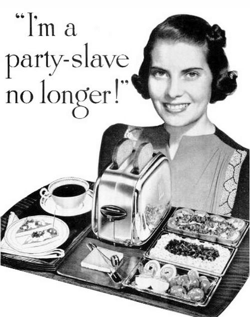 """""""I'm a party-slave nolonger!"""""""