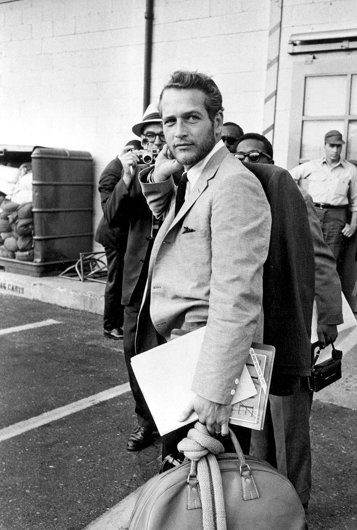 Paul Newman, 1963, with abeard