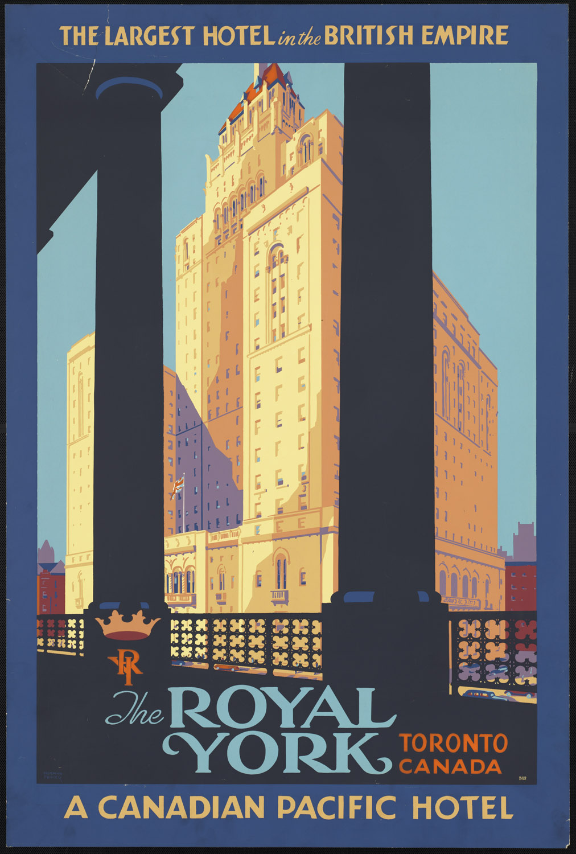 Royal York Hotel, Toronto, circa1940(?)