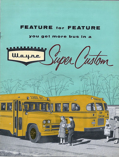 School bus, 1950s