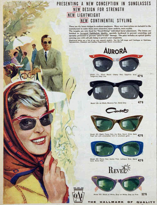 sunglasses 50s