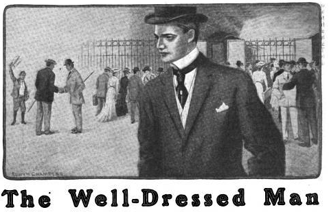 The well-dressed man