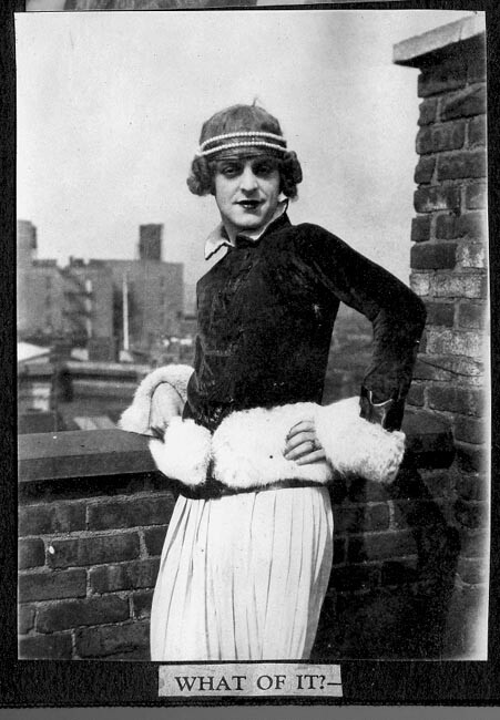 1920 cross dressing: What of it?