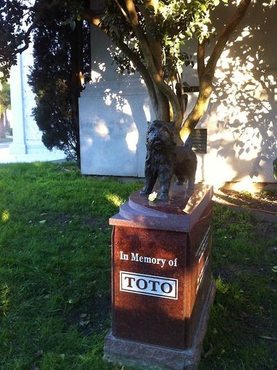 Toto's grave