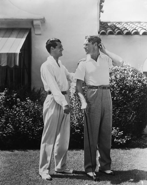 Cary Grant and RandolphScott