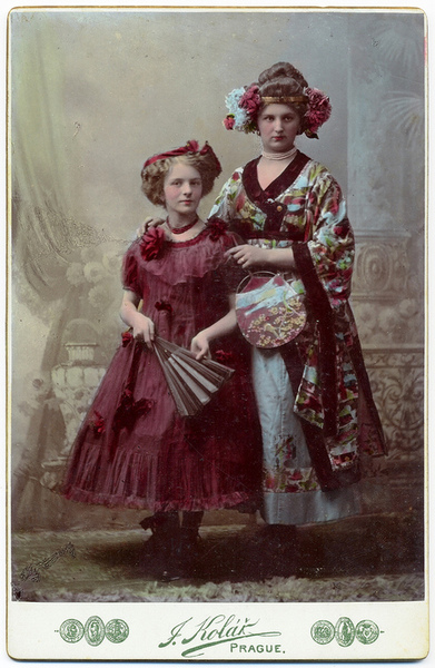 Czech ladies, 1800s