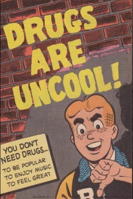Drugs are uncool