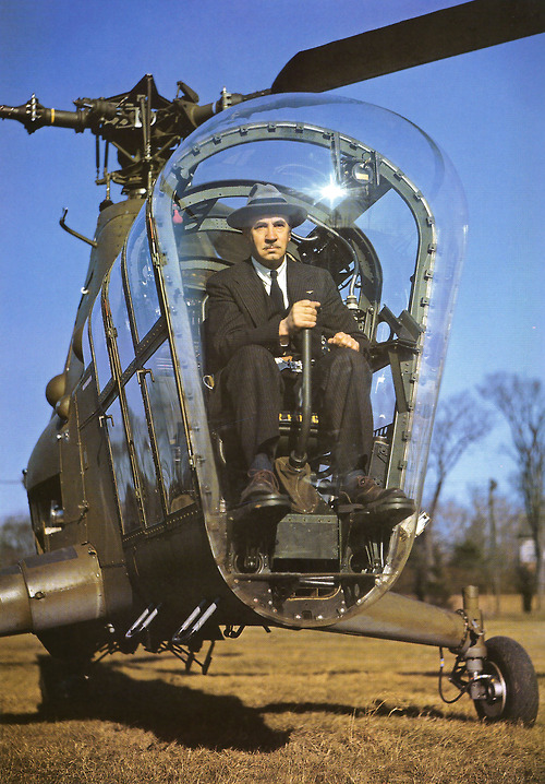 Igor Sikorsky, inventor of the helicopter