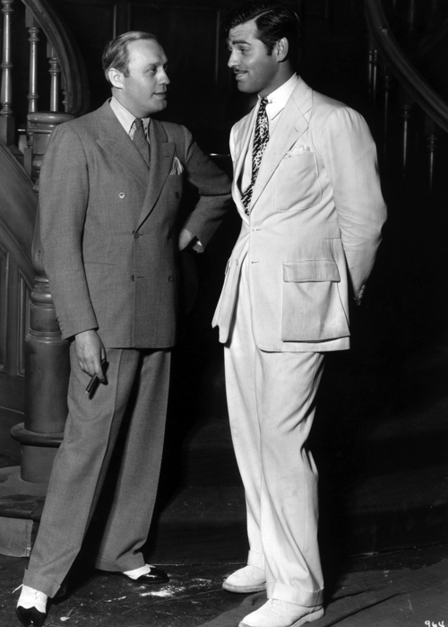 Jack Benny and ClarkGable