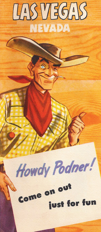 1950s  Ad for LasVegas