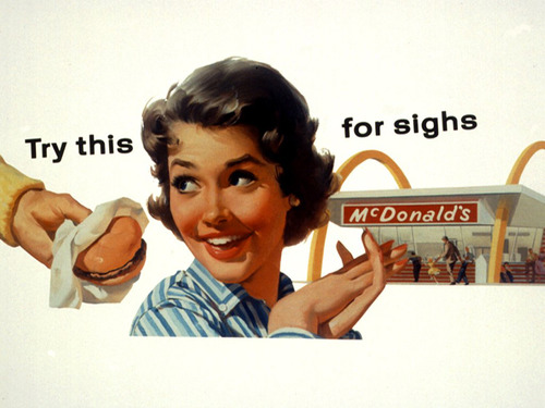 1950s Ad for McDonald's
