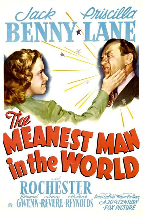 The Meanest Man in the World, starring Jack Benny