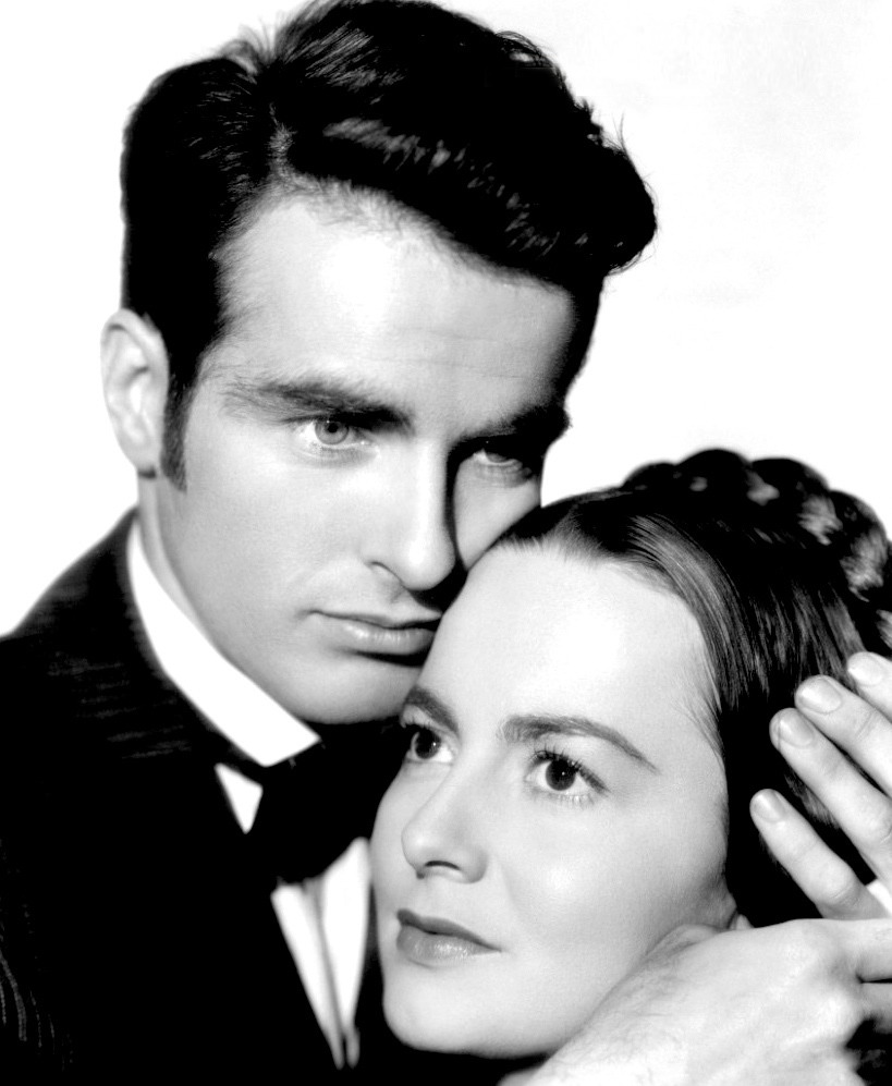 """1949 Best Actress Oscar Winner Olivia DeHaviland and Montgomery Clift in """"TheHeiress"""""""
