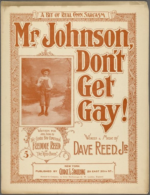 Mr. Johnson, don't get gay!