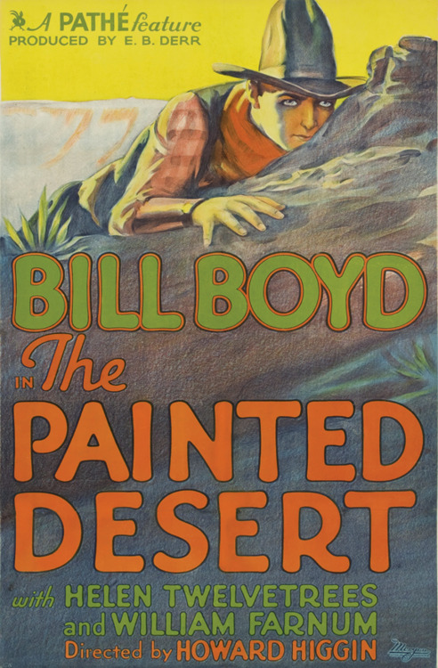 "Bill Boyd and Helen Twelvetrees in ""The Painted Desert"""