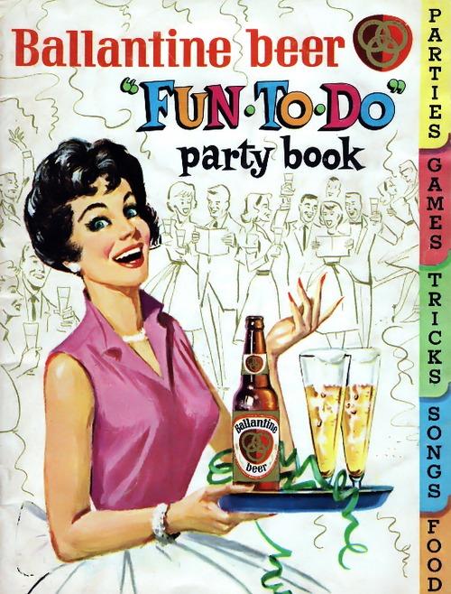 "Ballantine Beer ""Fun To Do"" PartyBook"