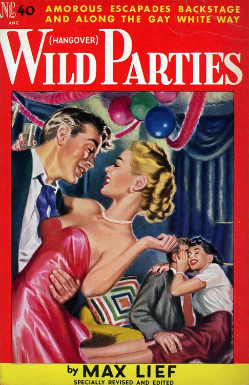 Wild parties along the Gay WhiteWay