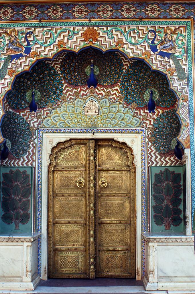 Peacock Doors, India