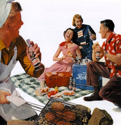 Pepsi cookout, 1950s