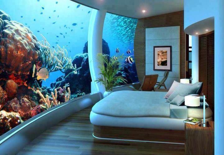 Underwater Hotel (socool!)
