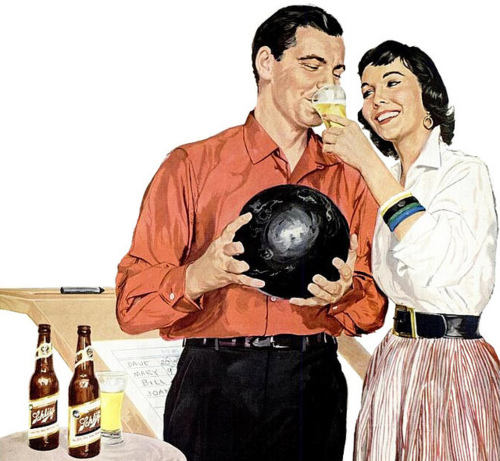 Schlitz and bowling