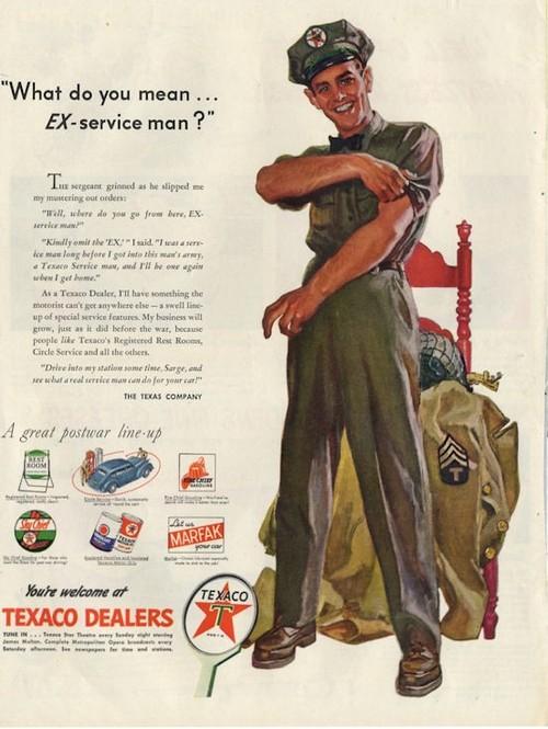 What do you mean EX serviceman?