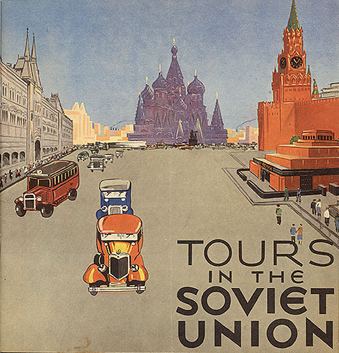 Tours in the Soviet Union,1930s