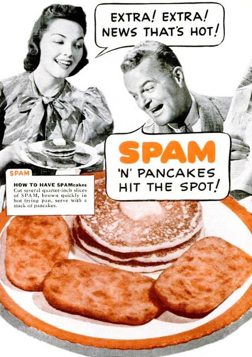Spam n' Pancakes