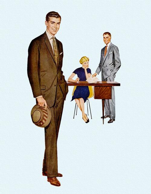 1950s Suit